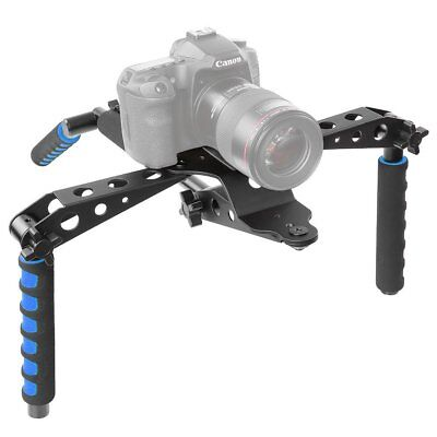 DSLR Handy Rig Shoulder Mount Steady Support Stabilizer Kit F DV Video Camera B2