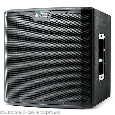 """Alto TS212S 12"""" 1250W Powered Active DJ Band PA Subwoofer Sub Bass Speaker 20Kg"""