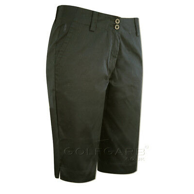 Glenmuir Long Shorts with Cotton Mix Finish in Black