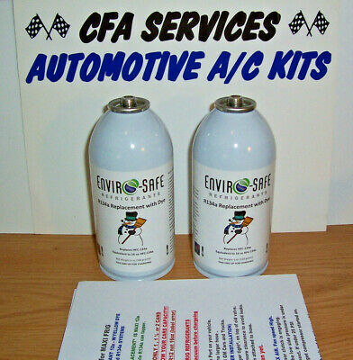 2 XL CANS R12 SYSTEMS COMPATIBLE REFRIGERANT =2.25lb / RECHARGE 1994 and OLDER