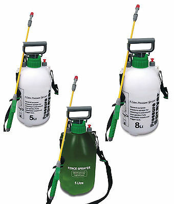 Garden Pressure Sprayer Knapsack Weedkiller Chemical Fence Water Spray Bottle