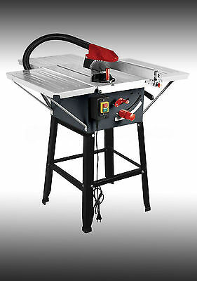 """BRAND NEW TABLE SAW WITH POWERFUL 1800w MOTOR 10"""" BLADE WITH 3 EXTENSIONS USED"""