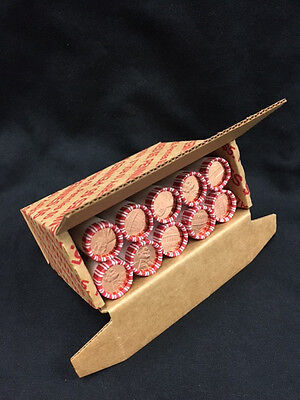 2017 P uncirculated 10-roll penny set in unique 10 roll box