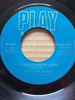 Brendan Shine My Old Country Home / When I Got Lucille I Got A Honey Of A Deal