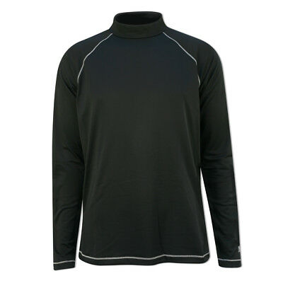 Adidas Men's Mock-Neck Base-Layer with Climawarm™ in Black