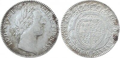 Frankreich Louis XV - State of Britain (Rennes) - 1756