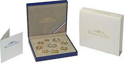 Frankreich BE.2011 Proof SET France 2011 Jacques Cartier