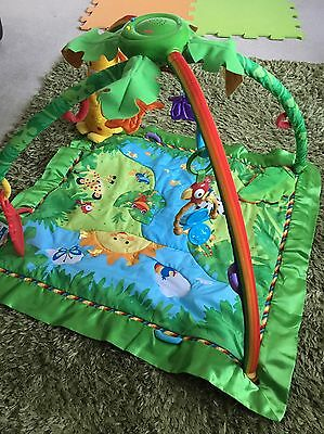 Fisher Price Rainforest Baby Playmat Gym