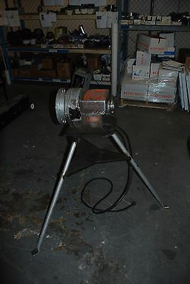 Vintage Toledo Beaver Tools # 222 Power Drive Pipe Threader Threading Machine