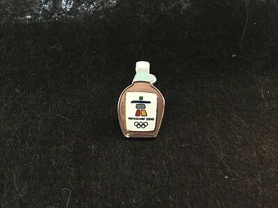 Vancouver 2010 Winter Olympics Maple Syrup Authentic Pin