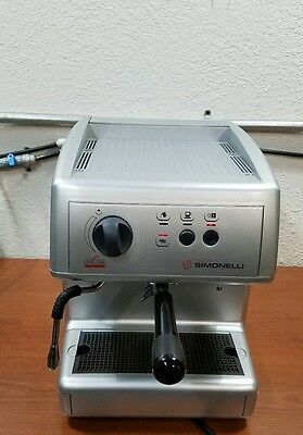 Nuova Simonelli Oscar - Professionally Refurbished - Loads of NEW PARTS - Silver