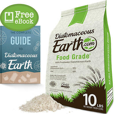 100% Food Grade Diatomaceous Earth DE 10 lbs by DiatomaceousEarth.com