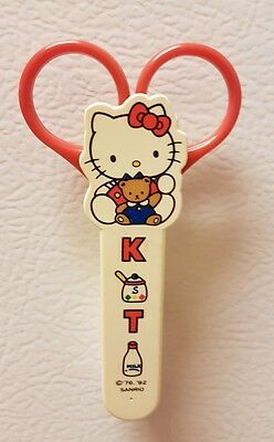 Hello Kitty Refrigerator Magnet Safety Scissors W/ Case '76-'92 from SANRIO