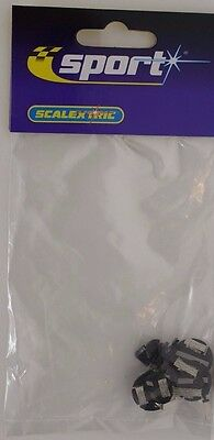 Scalextric Guide Blade and 4 Braid Plates C8329