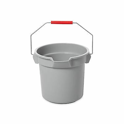 Rubbermaid Commercial BRUTE Bucket 14-Quart Gray 1 New