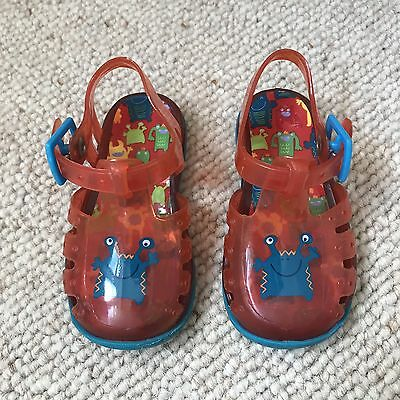 Baby Boys Pair Of Jelly Shoes Size 4