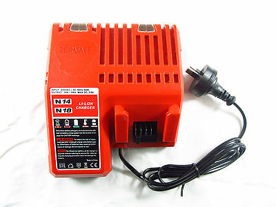 AU stock LITHIUM ION C18BX BATTERY CHARGER For MILWAUKEE M18