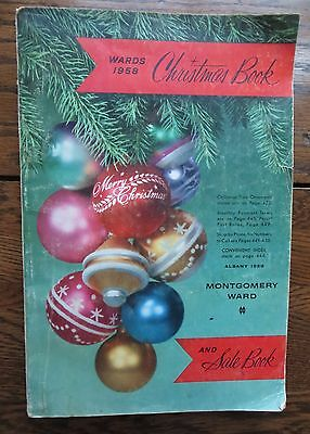 Vintage 1958 Montgomery Ward Wards Christmas Wish Book Catalog Catalogue 544 Pgs