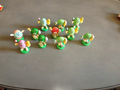 Lot of 11 M&M'S EASTER TOPPERS
