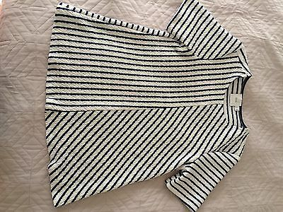 ASOS Blue And White Striped Maternity Top