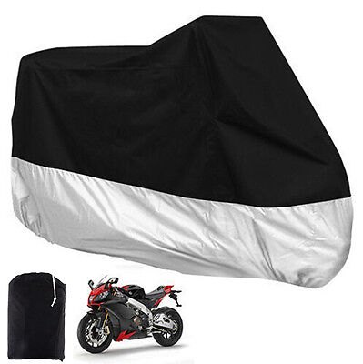 XXL Large Waterproof Motorcycle Motorbike Bike Protector Scooter Cover AU STOCK