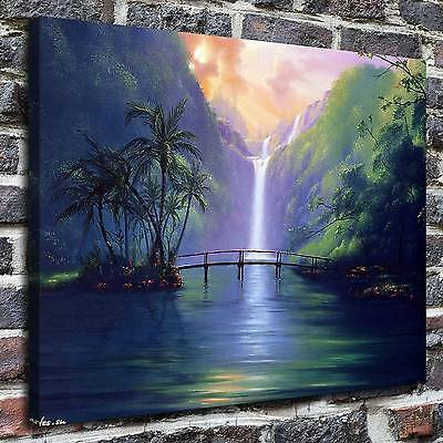 Tropical landscape Paintings HD Print on Canvas Home Decor Wall Art Pictures