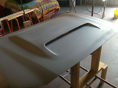 Toyota Hilux new turbo steel bonnet fitted with 70/79 scoop  2001-2015
