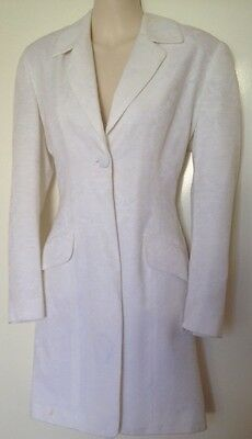 Ladies Jacket. White. Another Beauty From The Ezibuy Catalogue. Size 8.