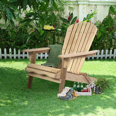 Miraculous Wood Adirondack Chair W Ottoman Outdoor Patio Deck Garden Gmtry Best Dining Table And Chair Ideas Images Gmtryco