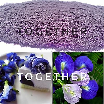 BLUE BUTTERFLY PEA 100% NATURAL POWDER POWDER 100 Kg OR BIG LOT OR INGREDIENTS