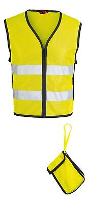 IXS Neon II Motorcycle High Visibility Reflective Vest yellow black Size 3XL/4XL