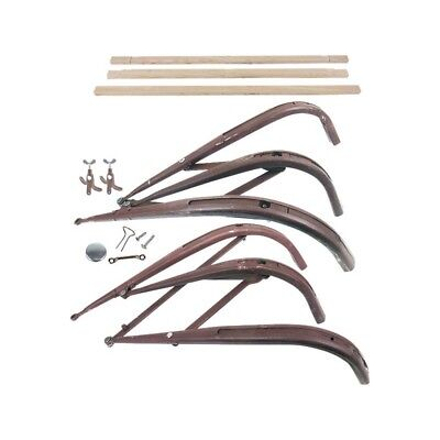 Model A Ford Top Iron & Wood Kit - Roadster 28-23104-1