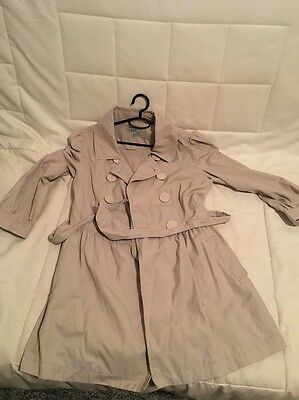 Wish Jacket Anorak Trench Coat Lovely Size 10