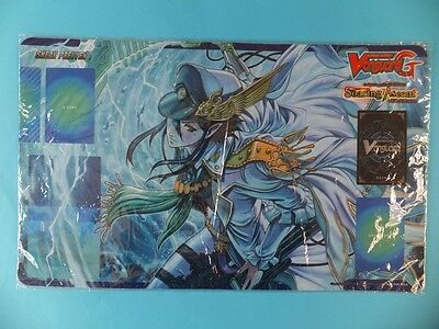 CARDFIGHT VANGUARD RARE PLAYMAT SOARING ASCENT OF GALE BLOSSOM Sneak Preview Mat