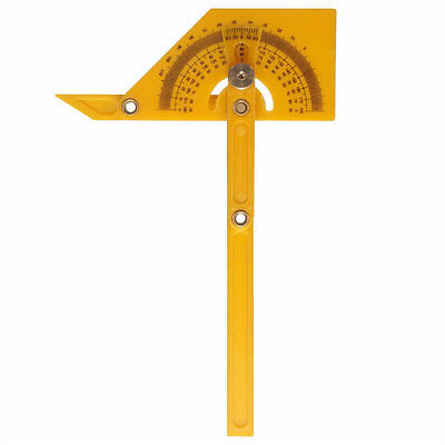 Angle Finder Protractor Goniometer Miter Gauge Brass Fittings Measurement New