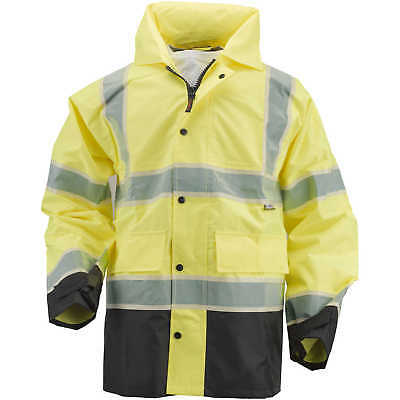 "Alpha Workwear Class 3 Rain Jacket, XX-Large, 48""-51"" Chest"