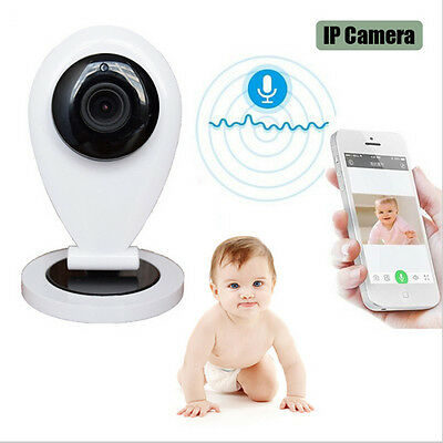 Wireless Wifi Baby Monitor IP Camera & Motion Detection Real-time Night Vision