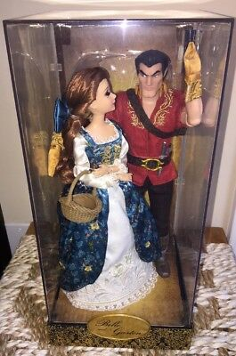 Disney Store Belle And Gaston Disney Fairytale Designer Doll MINT NRFB Beauty