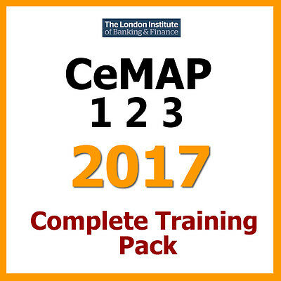 ✔ CeMAP 2017 - 1, 2 and 3 | All 8 Mock Exams + Answers | Revisons | Study Books