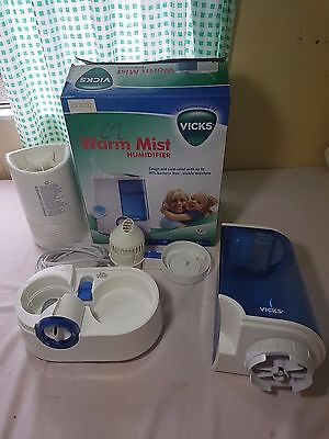 Kaz Humidifier 4 L Automatic Warm Mist Vaporiser 2 Speed VH750 VICKS Recommended