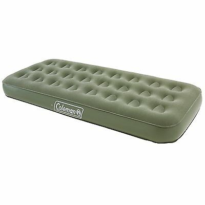 Coleman Comfort AirBed Inflatable Single Mattress great for Camping + Festivals