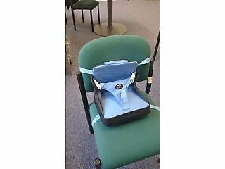First Years Lightweight Baby Booster Portable Chair Feeding Travel Holiday