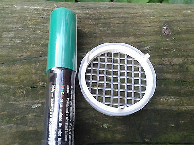 Green Queen Marking Pen with Press-In Cage