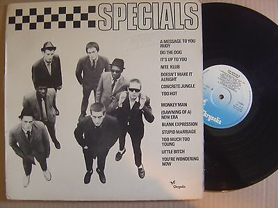 THE SPECIALS s/t SPANISH LP CHRYSALIS 1980 SKA