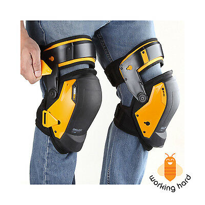 GEL KNEE PADS Thigh Support Construction Comfort Safety Leg Protector Pair Work