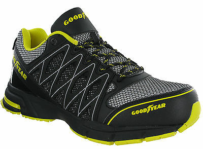 Goodyear Safety Trainers Composite Toe S1P Lightweight Metal Free Lace Mens 1502