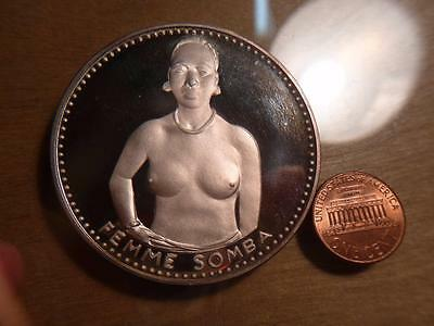 Dahomey 1971, 1000 Francs, Topless,Proof Condition...SKU#11165