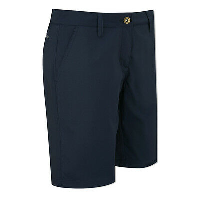 Catmandoo Ladies Straight Fit Shorts with Tech Stretch in Navy Blue