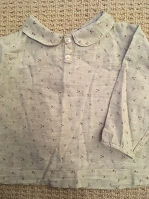 The Little White Company Baby Girls Shirt Top Size 6-9 Months