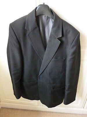 "Boys John Lewis ""David Luke"" Black School Blazer - Size 32 "" Chest"